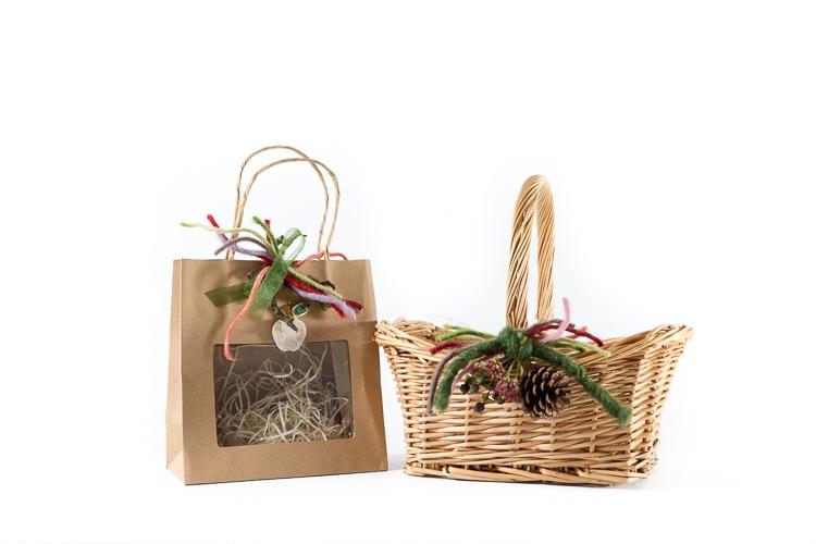 Geschenkkörbe und -sackerl zum Selberfüllen Image